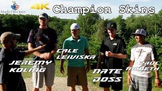 2015 Maple Hill Open: Champion Skins (Doss, Leiviska, McBeth, Koling) (4K)