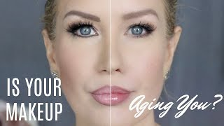 LIGHTEN UP! Is Your Makeup AGING You? (An Unscientific Experiment)