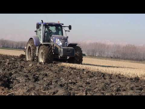 PLOUGHING 2013 - NEW HOLLAND T7.270 Blue Power & McCORMICK MTX200 + Vogel & Noot & Pietro Moro