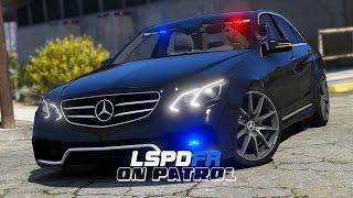 LSPDFR - Day 135 - Police Mercedes E63 Patrol