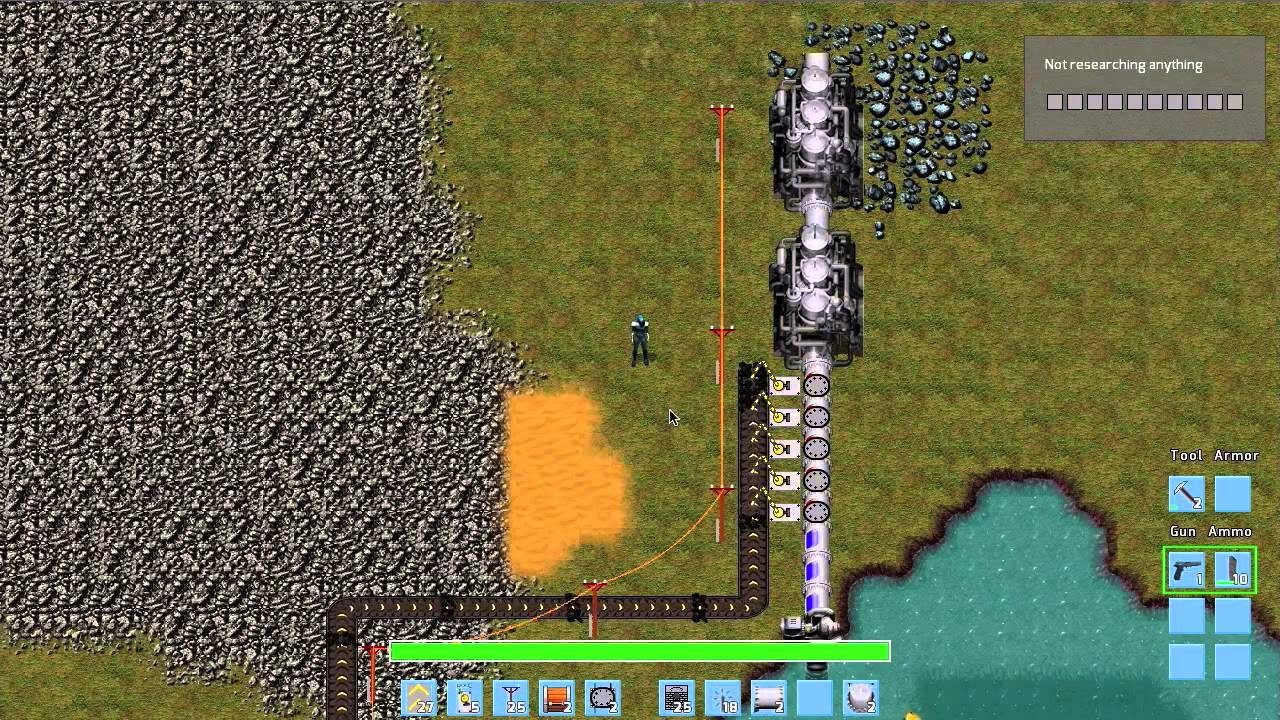 Factorio Tutorial 1 - Building a Basic Factory
