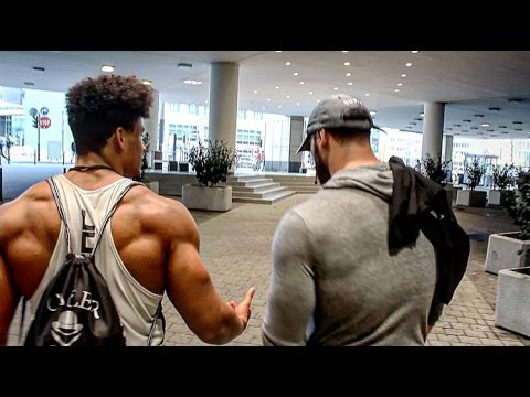 Natural Bodybuilder Onome Egger Bradley Martyn Ft. Calum Von Moger & Rich Piana l Fibo 2016