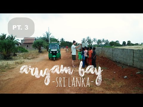 ARUGAM BAY - SRI LANKA (3/4) ▼ RTW TRAVEL VLOG