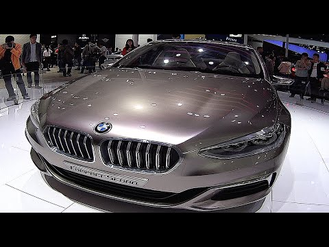 Bmw Compact Sedan Concept Exterior Video Youtube