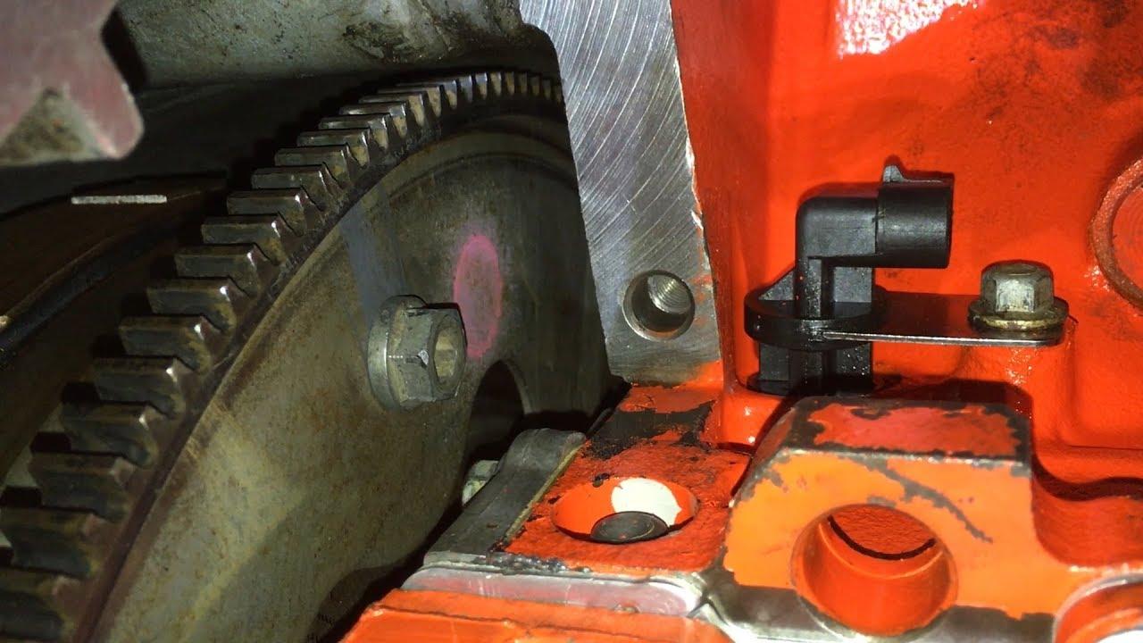 Remove Starter Flexplate Torque Converter Bolts