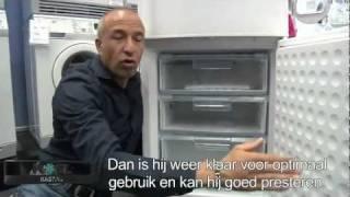 Bosch koelkast KGV36Y32. Bosch koel vries combinatie. Demo!