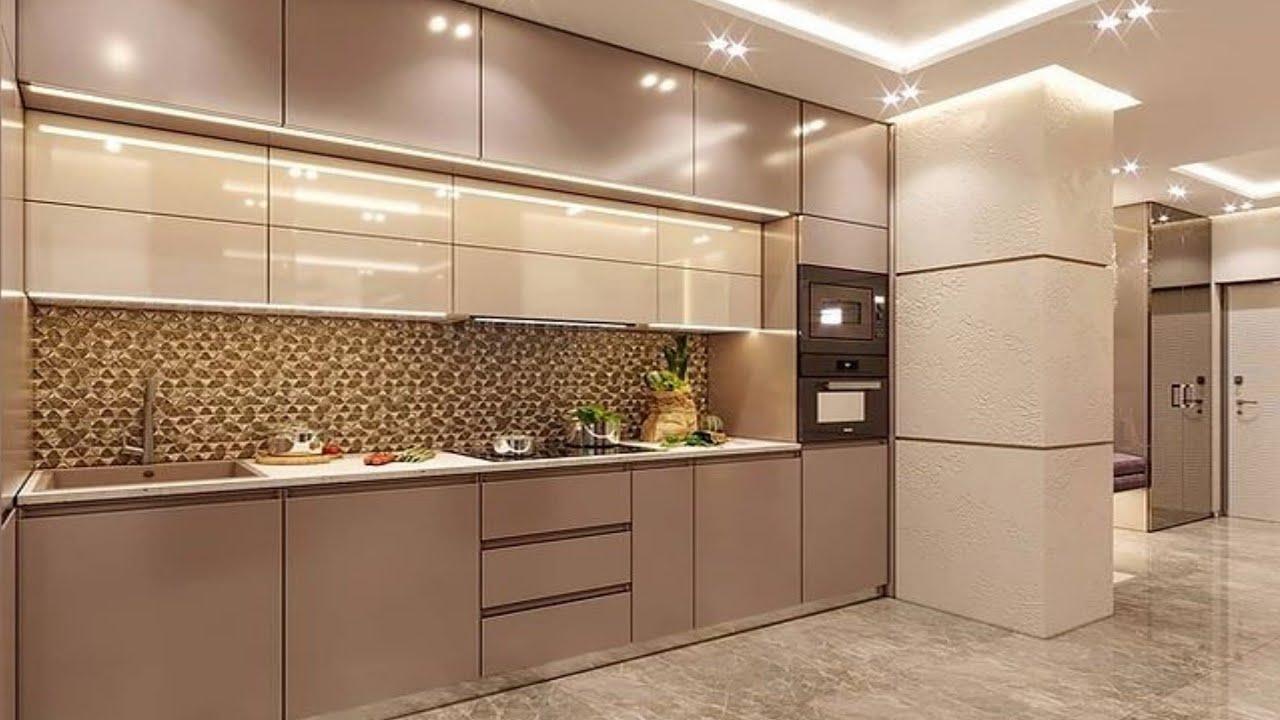 Top 9 Modular Kitchen Designs 9  Modern Kitchen Cabinet Colors   Home  interior design ideas