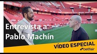 PABLO MACHÍN Y Maldini A Puro Fútbol. El Técnico Del Sevilla Nos Recibe En El Sanchez Pizjuan