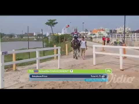 Cross Country Asian Games 2018 Arinadtha Chavatanont THA