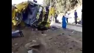 فيديو بعد وقوع الحادث بدقائق بحي الاخوة خالدي سكيكدة