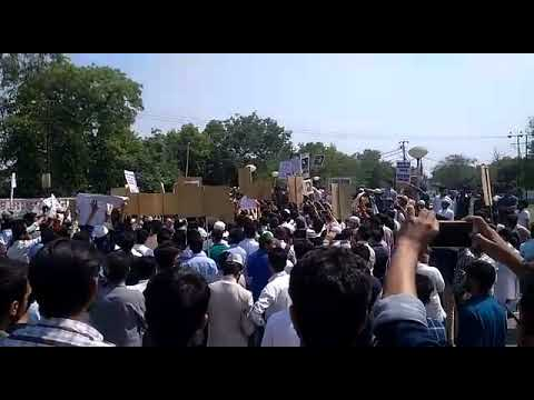 Justice for ASIFA rally in ALIGARh | लोगो ने किया विद्रोह 😔