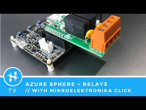 Control Relays With The Azure Sphere Dev Kit