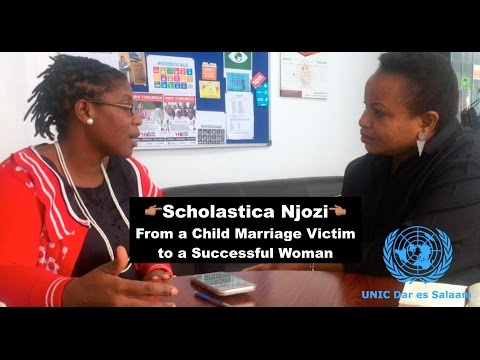 [SW] Scholastica Njozi - From a Child Marriage Victim to a Successful Woman