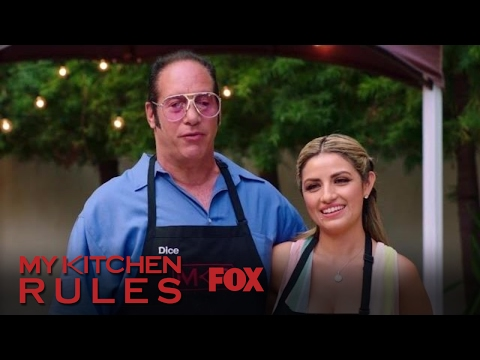 Andrew Dice Clay Announces Dessert | Season 1 Ep. 5 | MY KITCHEN RULES