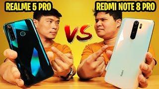 Realme 5 Pro vs Redmi Note 8 Pro - LABANAN NG MGA SUPER SULIT PHONES!