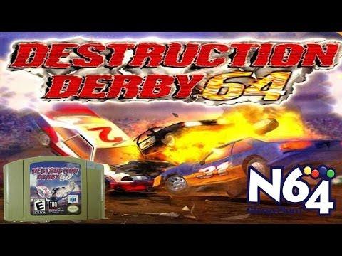 N64 Destruction Derby Aztec Ruins