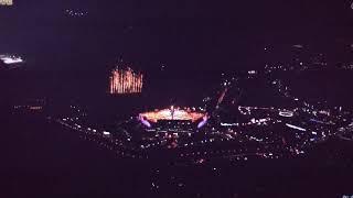 2018年 平昌オリンピック 開会式 花火