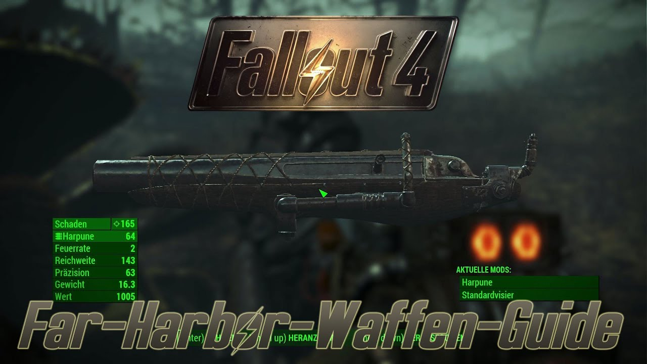 fallout 4 legendäre waffen