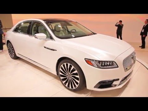 2017 Lincoln Continental Review Ratings Specs Prices And Photos