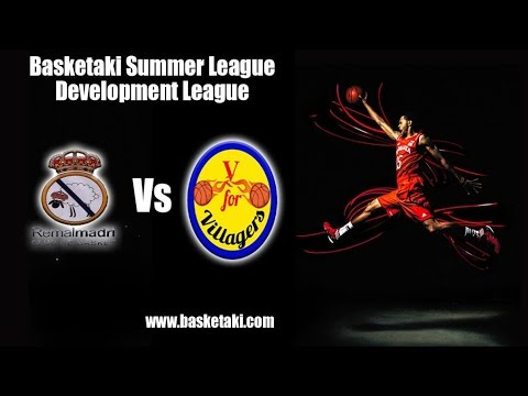 Basketaki Summer League - Remal Madri Vs Athens City Village