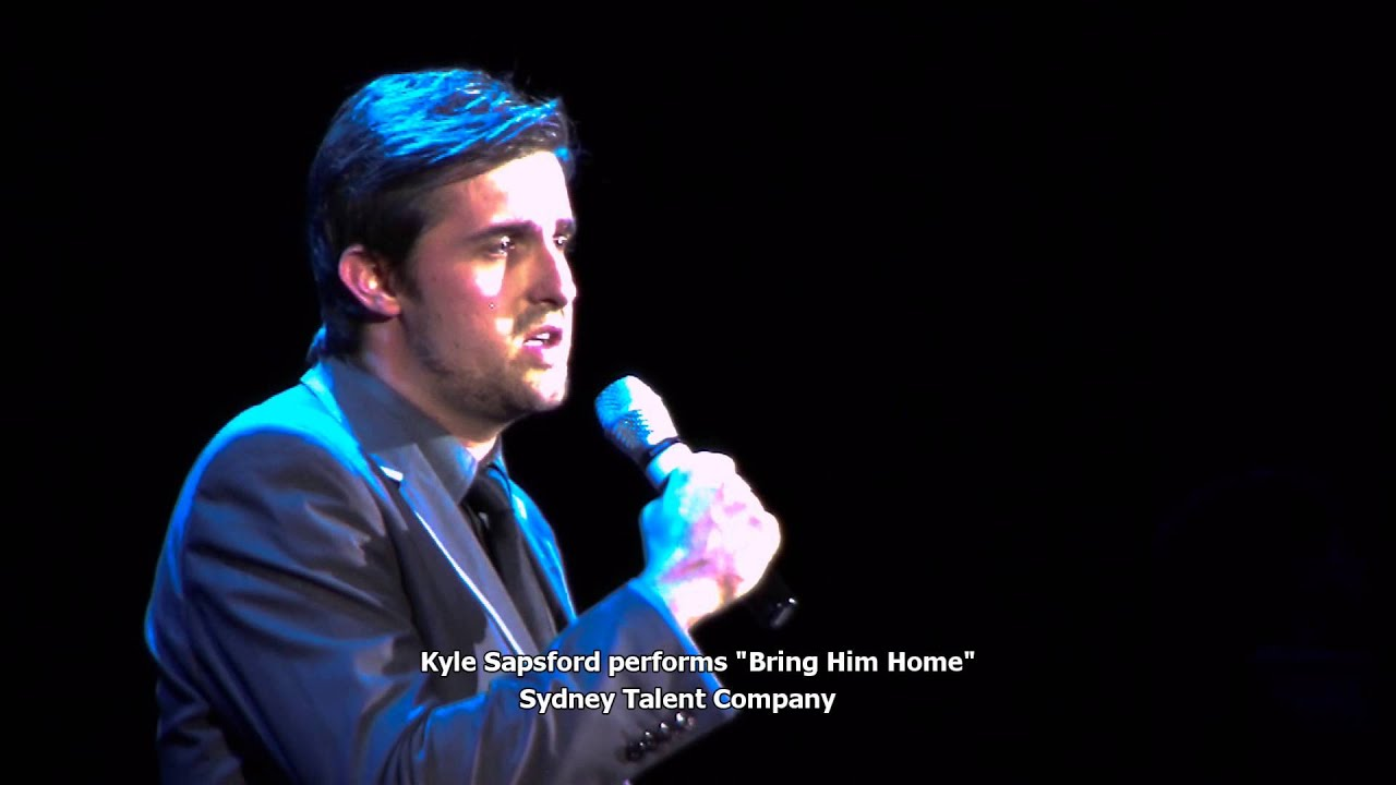 Sydney Talent Cos Kyle Sapsford sings Bring Him Home from Les