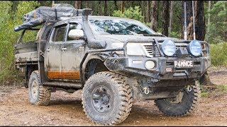 Hilux with the WORKS under the bonnet • CUSTOMS #22