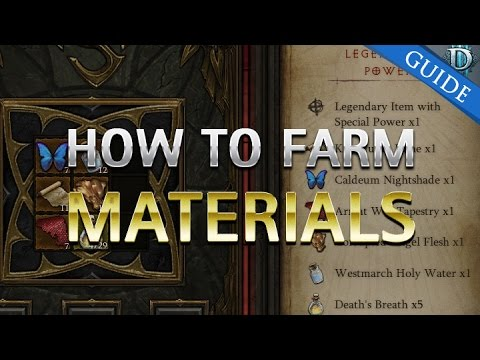D3 Ros How To Farm Material For The Kanai Cube Patch 2 3 Youtube