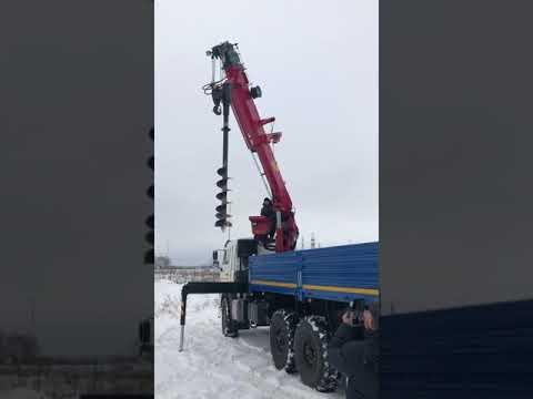 БУРЕНИЕ КМУ ГАЛИЧАНИН КМУ-150 на шасси КАМАЗ 43118