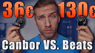 beats by dre powerbeats 2 vs canbor   130 vs 36   bluetooth kopfhrer vergleich