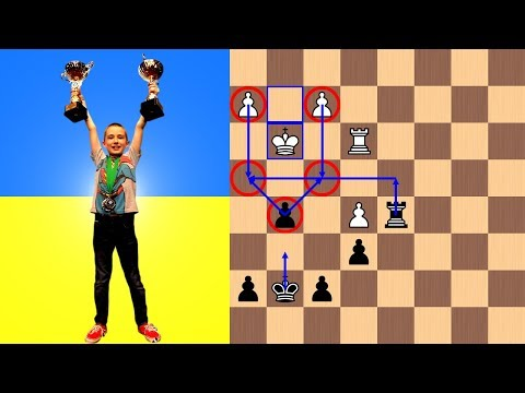 8-year-old Tihon Chernyaev is a Double World Chess Champion - Under 10