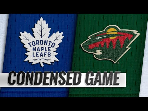 12/01/18 Condensed Game: Maple Leafs @ Wild