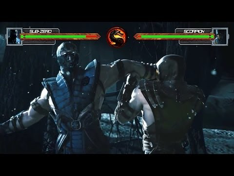 Download Mortal Kombat X Trailer With Life Bars! Images