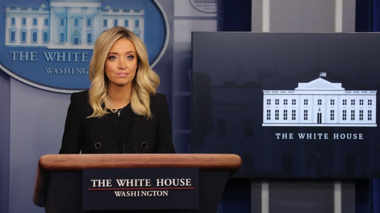 ?Watch Live: White House Briefing with Press Secretary Kayleigh McEnany 7/1/20