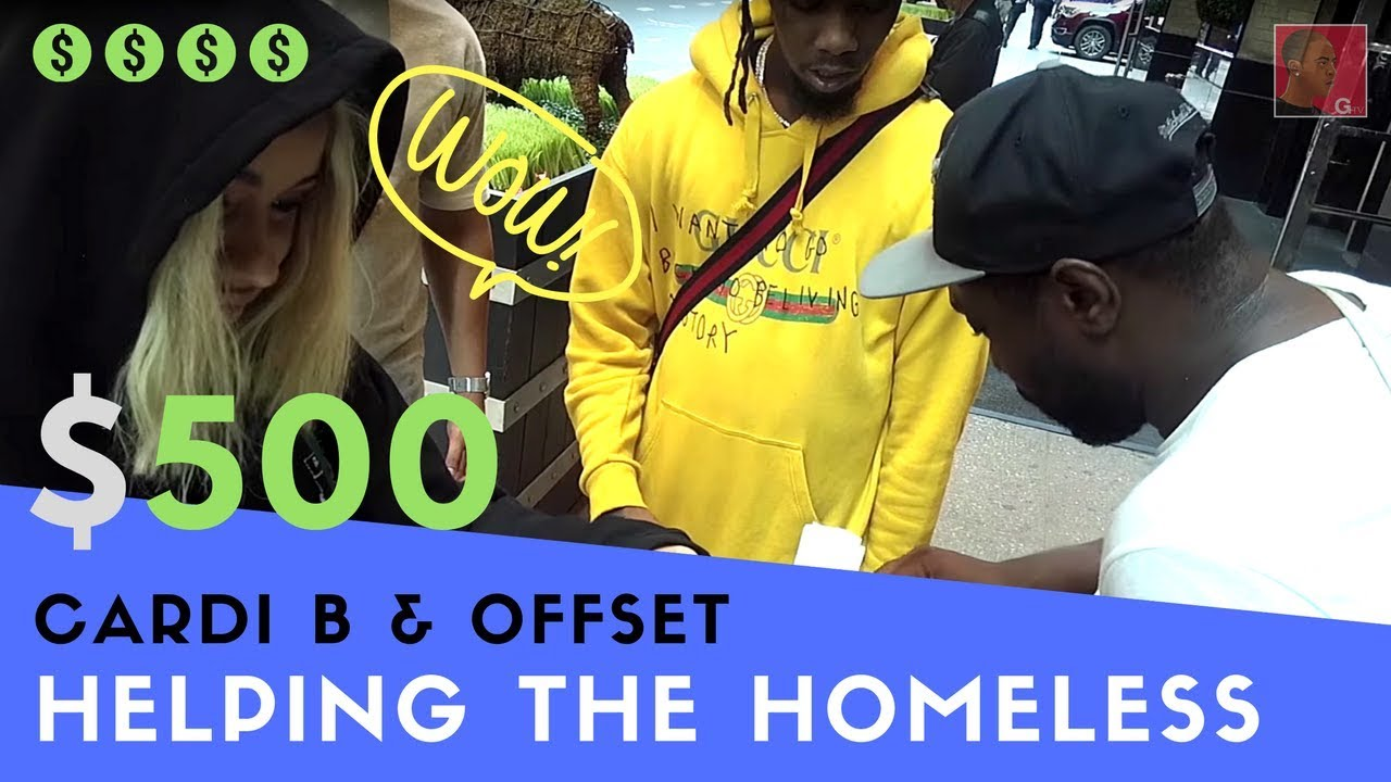 Cardi B Offset Could Be Fully Back Together Very Soon: Cardi B & Offset Give $500 Cash To Homeless Man For