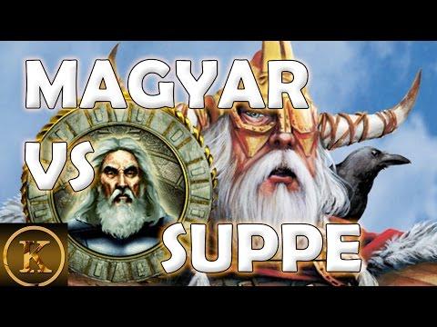 Age of Mythology PRO Match Magyar VS Soup Ghostlake
