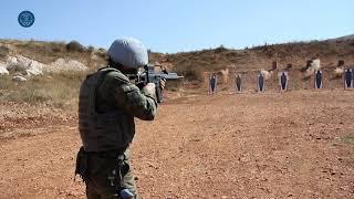 Líbano: Ejercicio de tiro