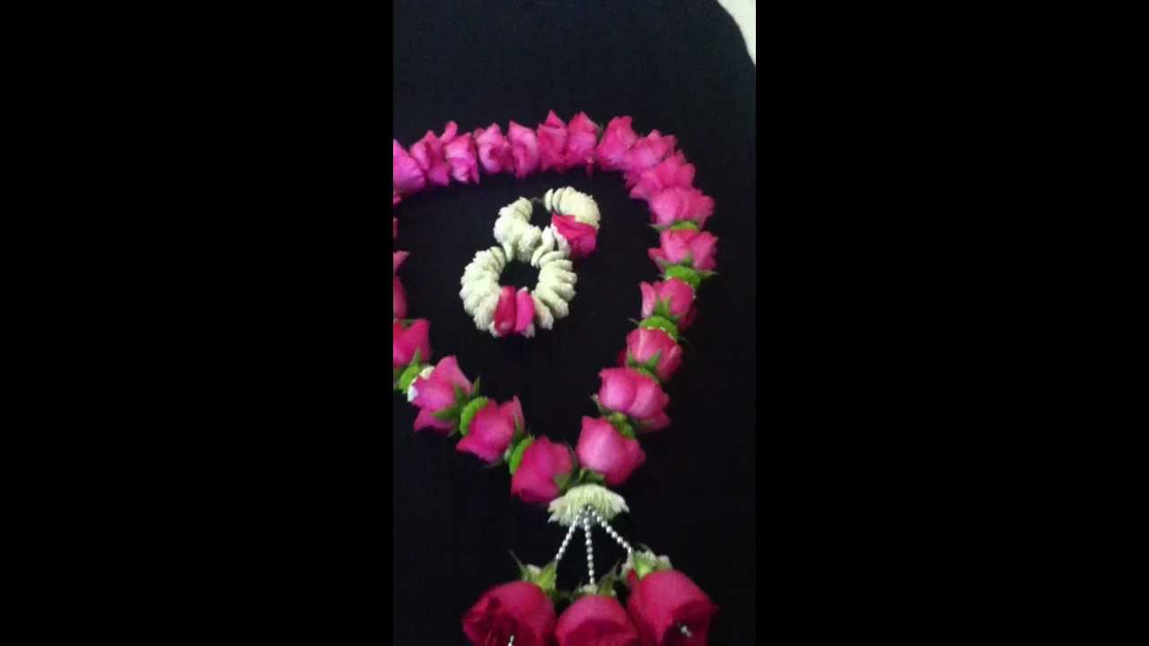 Mehndi Flower Garlands : Fresh flower jewelry for brides new york youtube