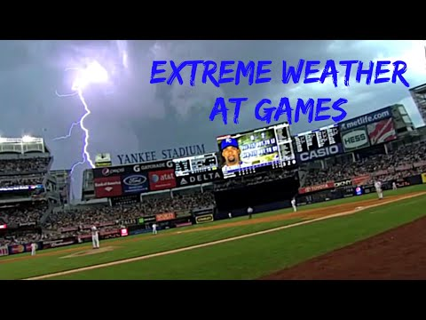 MLB Crazy Weather
