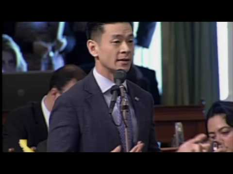 AB 2943 CA Assembly Floor debate: Bill Ban's Christian Book on Sexual Orientation