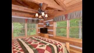 Appalachian Escape luxury log cabin near Gatlinburg, Tennessee