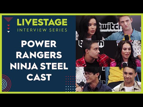 'Power Rangers Ninja Steel' Cast Interview - NYCC Live