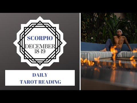 "SCORPIO - ""PLEASE TELL ME THIS CAN BE FIXED"" DECEMBER 18-19 DAILY TAROT READING"