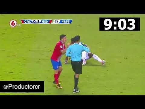 Minutos Perdidos por Honduras vs CR (Cámara Rápida)
