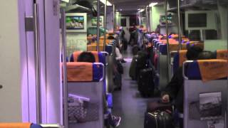 PAUL HODGE: 2013 SOLO AROUND WORLD IN 24 DAYS, BEIJING AIRPORT EXPRESS TRAIN, Ch 65, SoloAroundWorld