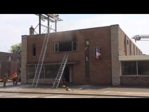 Hamilton Bowling Alley Fire
