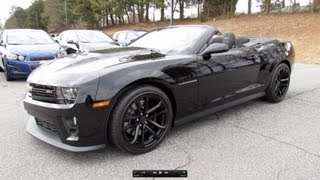 2013 Chevrolet Camaro ZL1 Convertible Start Up, Exhaust, and In Depth Review