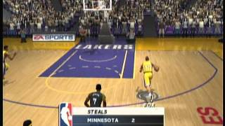 EA Sports NBA Live 2003 (X Box) Game Play