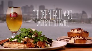 Chicken Paillard With Grilled Tiramisu