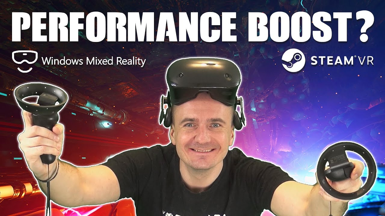 VR Benchmark: Windows Mixed Reality 100% Performance Boost with ASW - Does  it work?