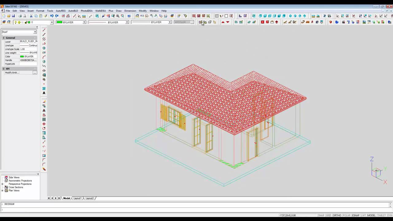3d Bim Architecture 3d Roof Design Lesson 1 Youtube